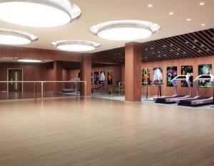 200平米简欧风格健身房装修效果图
