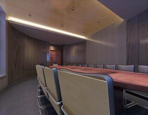 大型公司会议室装修效果图
