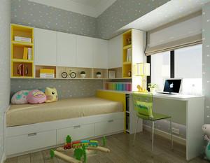 小户型儿童房榻榻米创意设计效果图