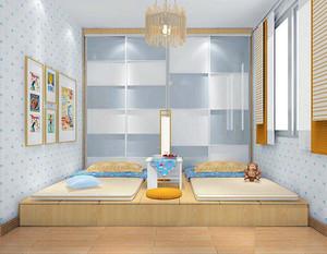 儿童房榻榻米创意设计效果图