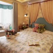 卧室美式局部三居室装修