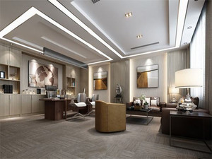 现代风格小型会客厅装修效果图
