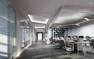 现代简约风格办公室设计图