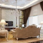 空间其他欧式窗帘90平米装修
