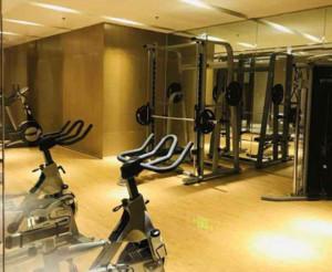 140平方中式风格健身房装修效果图