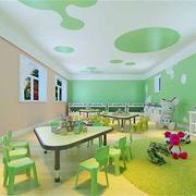 清新幼儿园装修效果图案例