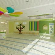 幼儿园清新简洁装修效果图
