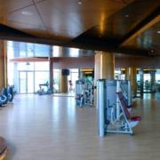 120平米自然风格健身房装修效果图展示
