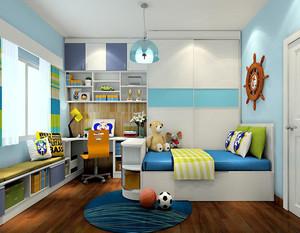 儿童用榻榻米卧室装修效果图