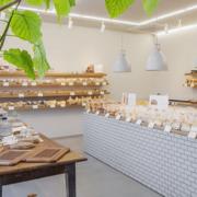 140平米中式风格面包店装修效果图