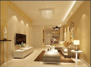 简约风格客厅装修设计图片