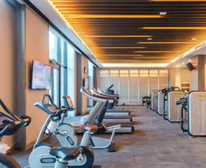 90平米欧式风格健身房装修效果图