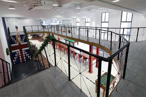 Loft创意办公室装修效果图