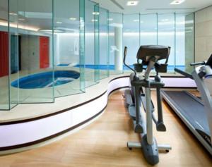 都市风格健身房装修效果图鉴赏