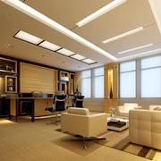现代独立办公室装修效果图