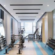 90平米现代风格健身房装修效果图