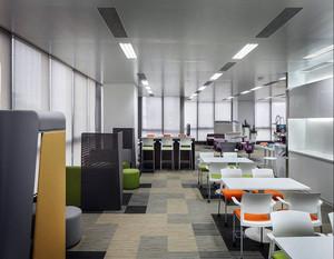现代创意公共办公室装修效果图