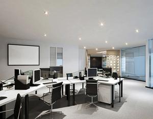 商业办公室装修效果图