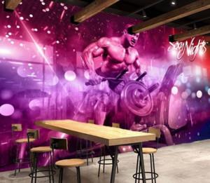 120平米欧式风格健身房效果图