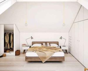 120平米现代风格阁楼效果图赏析