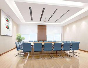 现代创意风格会议室装修效果图