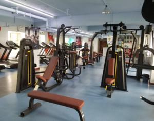 120平米现代简约风格健身房效果图赏析