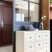 三居室现代风格鞋柜装修案例