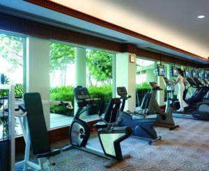 120平米现代简约风格健身房装修效果图