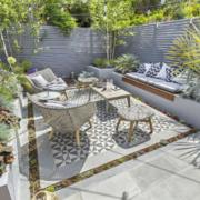 15平米欧式入户花园装修效果图