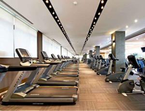 120平米混搭风格健身房装修效果图