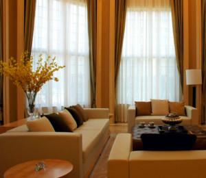 现代简约风格窗帘装修效果图赏析
