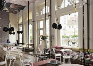小型美式咖啡厅装修效果图