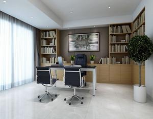 现代私人办公室装修效果图