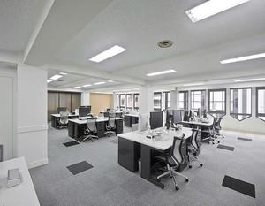白领公共办公室装修效果图