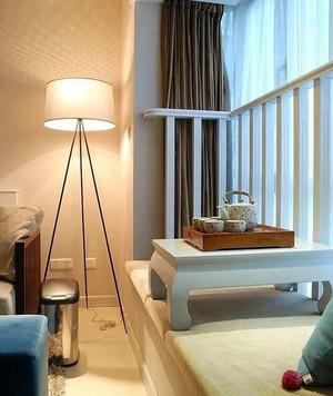 100平米客厅飘窗装修效果图片