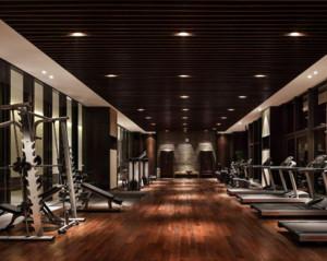 120平米现代风格健身房装修效果图大全