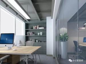 现代简约风格办公室设计效果图片