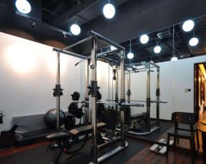 140平米美式健身房装修效果图大全