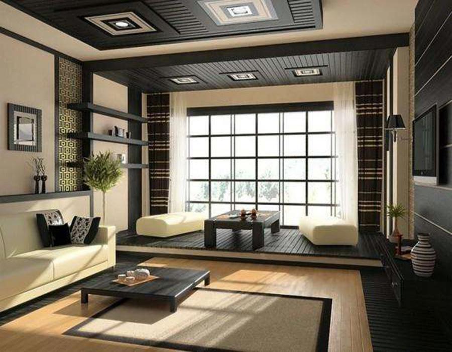 中式典雅榻榻米卧室装修效果图