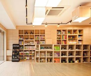 文艺书店装修效果图