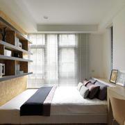 小户型榻榻米卧室设计装修效果