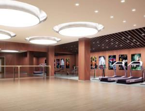 东南亚风格健身房装修效果图