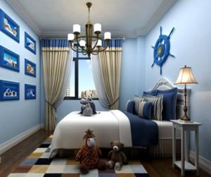 地中海风格窗帘设计效果图赏析