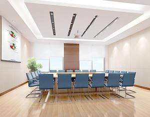 120平会议室装修效果图