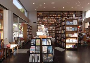 简约时尚小型书店装修