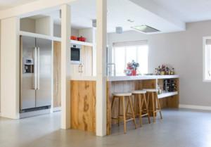 10平米厨房吧台装修效果图