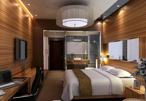 60平米宾馆装修效果图案例欣赏