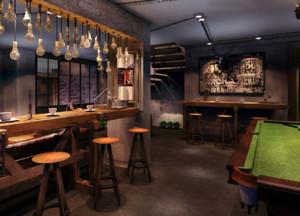 40平米咖啡厅装修效果图