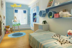 15平米简约风格儿童房装修效果图