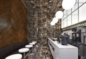 现代简约咖啡厅装修效果图